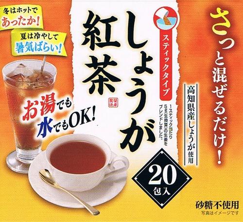 スティックタイプしょうが紅茶20p